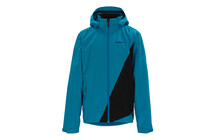 Zimtstern Technical Rain Jacket Crux Trail men cyan